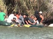 Aseguran cubanos migrantes están cruzando nado Bravo