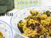 Quinoa verduras pasas