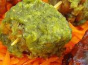 Brochetas tempeh salsa barbacoa mojo verde