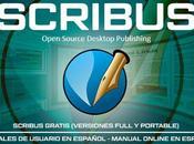 Scribus (Full Portable) Gratis Manuales Usuario Español