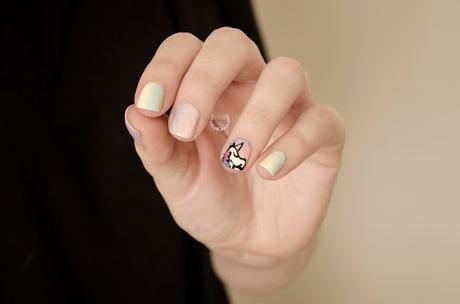 ♔ Manimonday -  Fiebre Unicornio - Nail art❀