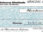 Marzo 2.017 Cheque Abundancia