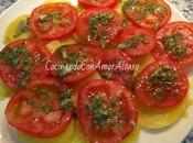 Ensalada Patata Tomate Natural
