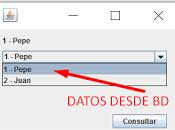 Como llenar JComboBox datos