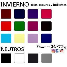 Teor a de las estaciones del a o y los colores que nos favorecen paperblog - Colores que favorecen ...