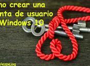 Cómo crear cuenta usuario Windows