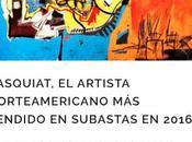 Basquiat, artista norteamericano vendido subastas 2016