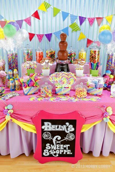 Ideas de mesas dulces para una comuni n paperblog - Ideas para mesas dulces de comunion ...