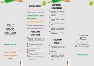 Jornada de puertas abiertas Colegio Público Santo Domingo #MeGustaMiCole