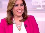 Susana Díaz, peor tirón mediático esperaba.