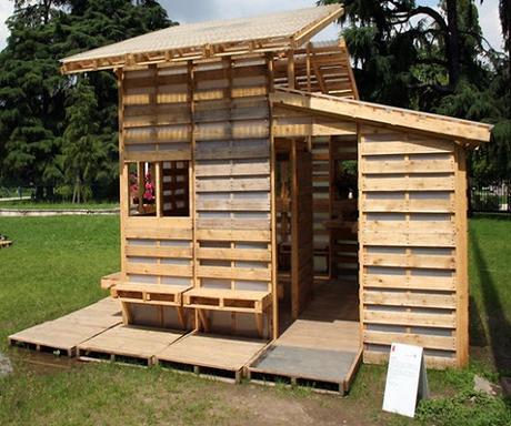 C mo hacer una caseta de madera con palets paperblog for Como hacer caseta de madera para jardin