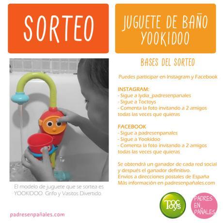 Sorteo de juguete de ba o yookidoo paperblog - Juguetes de bano ...
