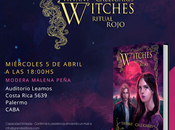 Presentación Ritual Rojo (Witches Tiffany Calligaris