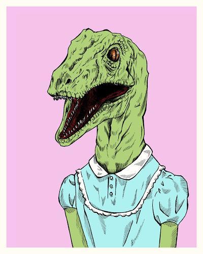 Unas Cuantas Ilustraciones Dinosaurianas... (VII)