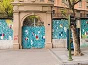 Trampantojos murales Madrid (M). Tabacalera