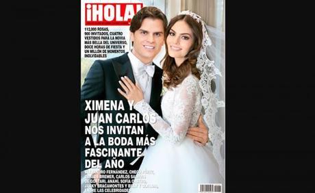 Cuatro vestidos y 900 invitados en la boda de Ximena Navarrete