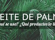 Alimentos aceite palma