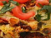 Lasaña tempeh verduras