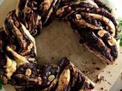 babka chocolate versión rosca pascua