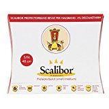 Scalibor Protector Band - Collar antiparasitario para perros contra la leishmaniasis., blanco, Piccola e Media (48 cm)