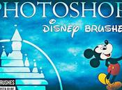 Pinceles para Photoshop Personajes Disney