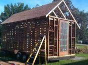 Trabajar madera reciclada construcción caseta jardín