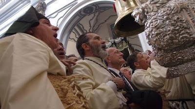 Antonio Banderas de procesión