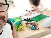 Nueva obsesión: Escribiendo entre dinosaurios
