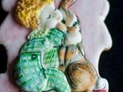 Galletas decoradas ternura vintage