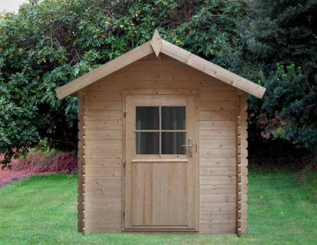La madera como material a utilizar en la fabricaci n de - Como hacer una caseta de jardin ...