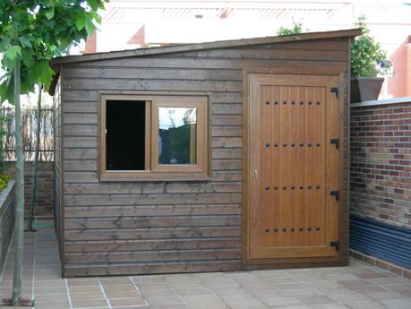 La madera como material a utilizar en la fabricaci n de for Casetas de patio