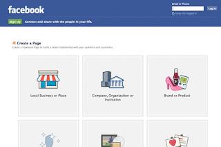 Como crear una página de facebook