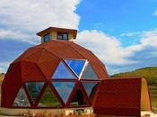 cúpula geodésica resistente terremotos