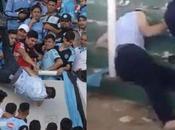 muerte cerebral hincha Belgrano arrojado desde tribuna