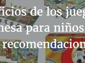 Beneficios juegos mesa para niños recomendaciones