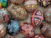 Pascua 2017 Ucrania: Grande celebración entrañable familia amigos