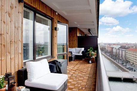 Terraza revestida en madera paperblog for Balcones madera exterior