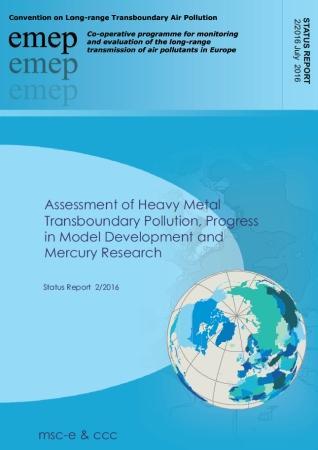 EMEP: Contaminación transfronteriza por metales pesados en Europa (Informe 2016)