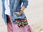 Como combinar falda paillettes
