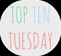 Top Ten Tuesday: cosas que hacen que quiera leer un libro