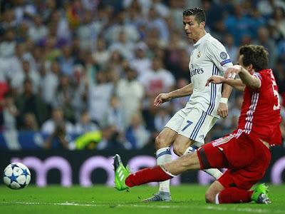 Cristiano Ronaldo, manita al Bayern Munich
