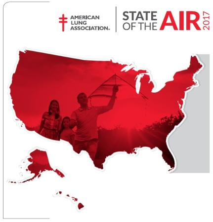 EEUU: Calidad del Aire 2017 (American Lung Association)