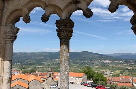 Una de las ventanas del Castillo de Belmonte Portugal