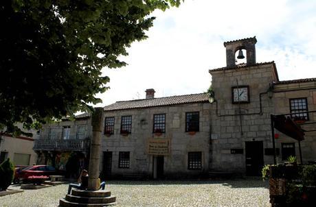 Plaza de la República Belmonte Portugal