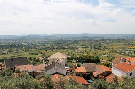 Vistas desde el Castillo de Belmonte Portugal
