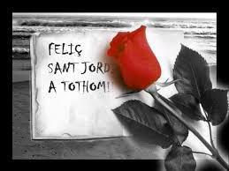 23 de abril. Sant Jordi, Cervantes, Shakespeare, Gracilaso, Woodsworth, Josep Pla: rosas y libros