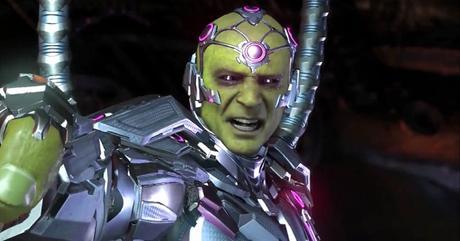 BRAINIAC invade la Tierra en el nuevo trailer de INJUSTICE 2