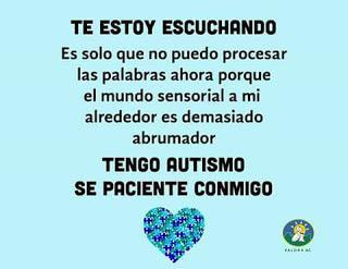 Así ve el mundo un niño con autismo:ponte un minuto en su lugar
