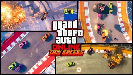 Tiny Racers, las carreras clásicas del mundo del videojuego, llegan a Grand Theft Auto Online