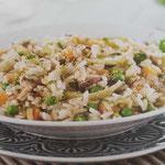 Crepes saladas de champiñones conespinacas